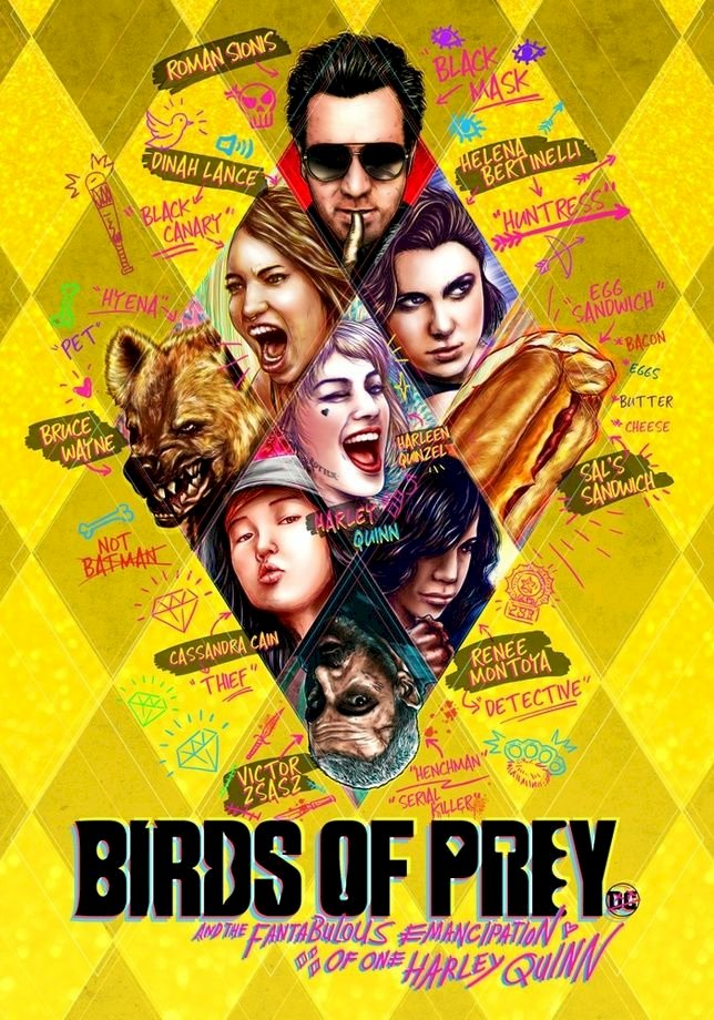 Brace yourself for DC'S The BIRDS OF PREY